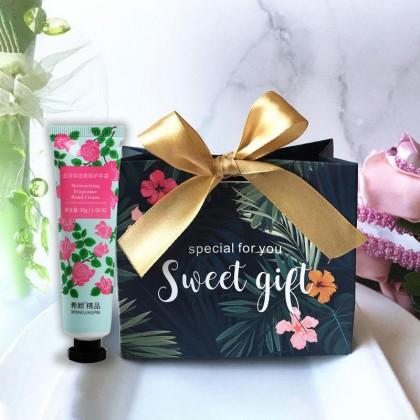 HANDCREAM + RIBBON BOX Door gift